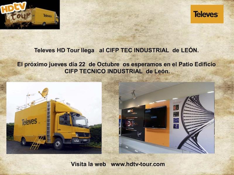 Presentación HDTV-TOUR leon